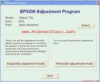 Eeprom Resetter For Epson T10 1