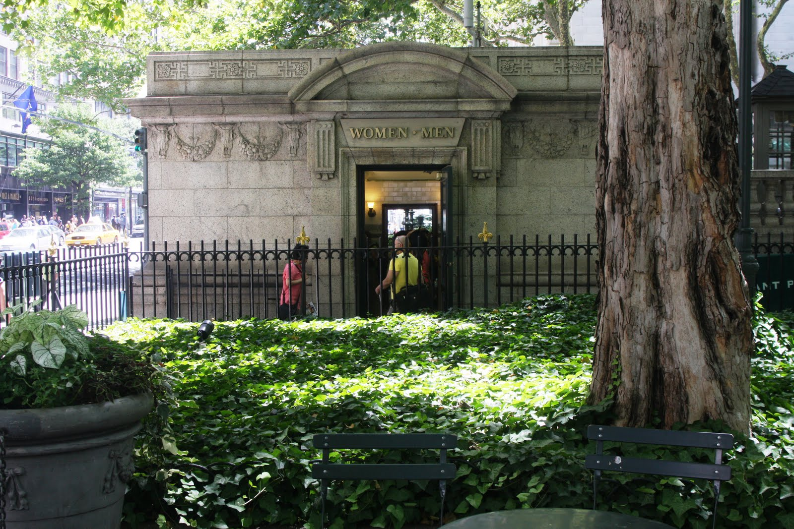 Central Park Bathrooms bryant park blog: vote for bryant park's bathrooms!