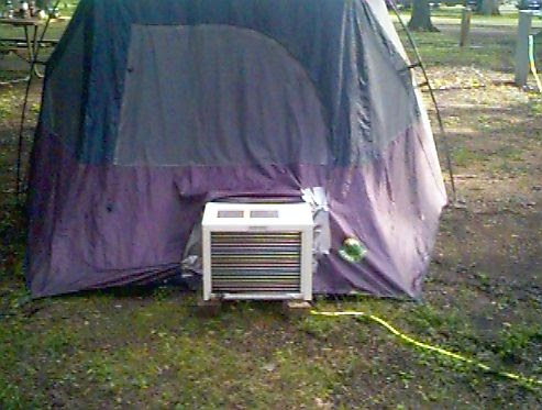 Sabrina S Blog Do You Hear Of Quot Air Condition Tent Quot