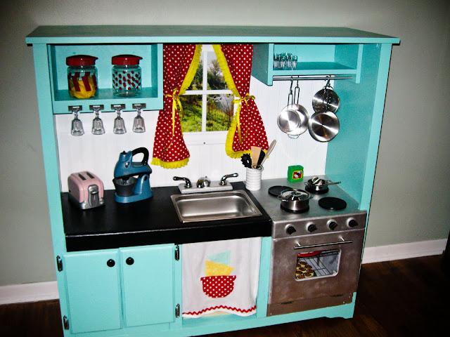 fabriquer une cuisine pour enfant - sous une etoile - Fabriquer Une Cuisine En Bois Pour Enfant