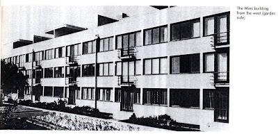 Colonia weissenhof for Case mies van der rohe