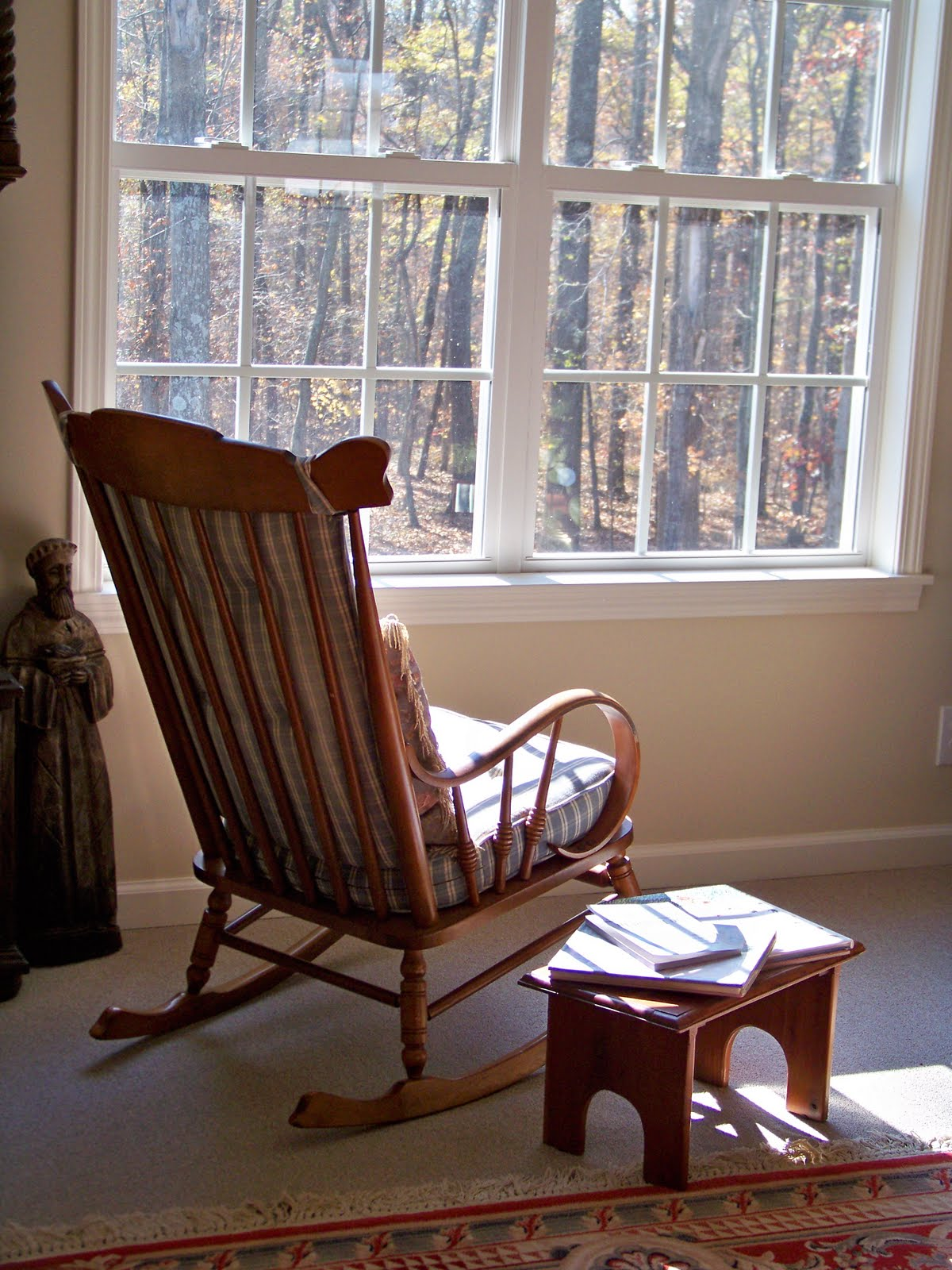 The Old Rocking Chair & My Journey To Mindfulness: The Old Rocking Chair