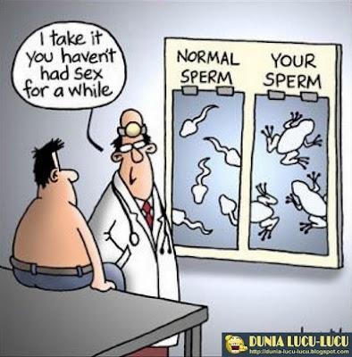 Gambar Lucu Seputar Sperma