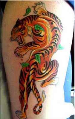 Tattoo Harimau - Tiger Tattoo