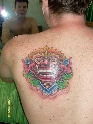 Balinese Tattoo by Abenk