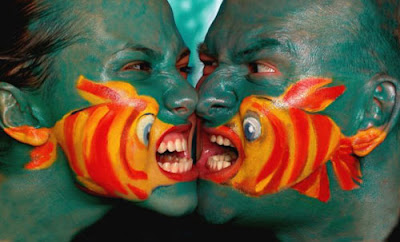 Foto Lucu Face Painting