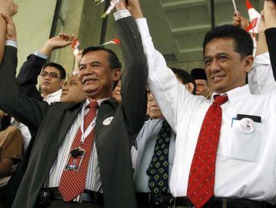 Bibit Samad Riyanto dan Chandra M Hamzah