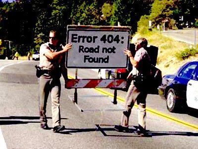 Gambar Lucu Error 404