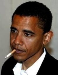 Obama Berhenti Merokok