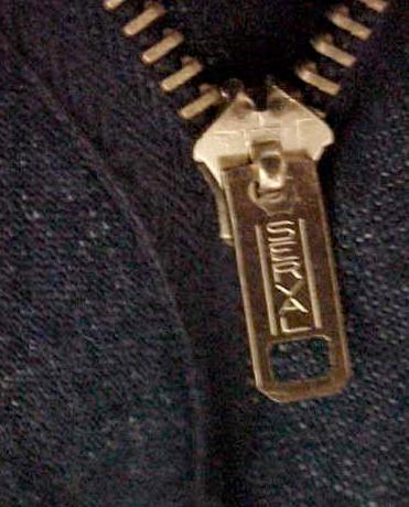 Company serval zipper 1950s Talon
