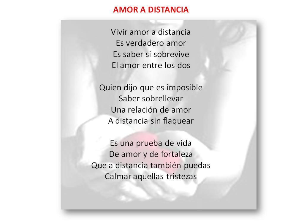 Poemas De Amor En La Distancia
