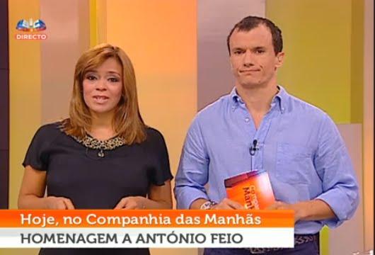 'Companhia das Manhãs' homenageia António Feio | SIC Blog Companhia Das Manhas