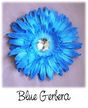 """4"""" Blue Gerbera"""
