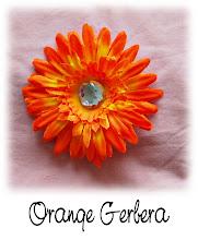 """4"""" Orange Gerbera"""