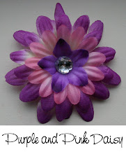 """3"""" Purple and Pink Daisy"""