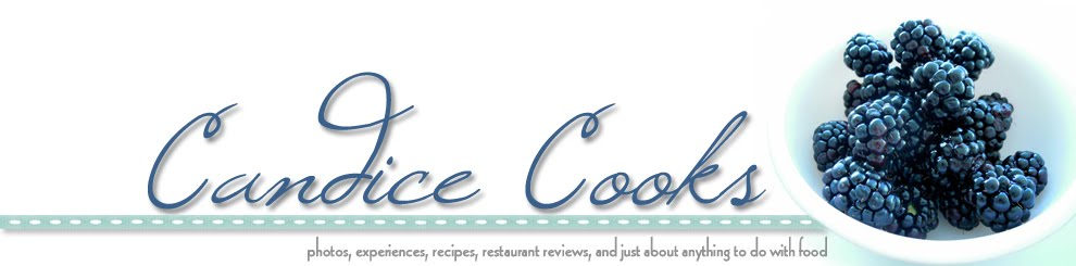Candice Cooks - photos, experiences, recipes, restaurant reviews, and just about anything to do wit