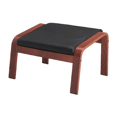 ikea also offers the poang chair and footstool which would look great