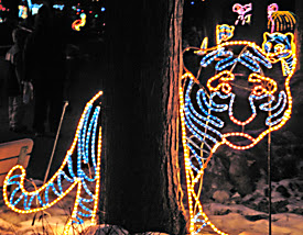 Lighted Tiger