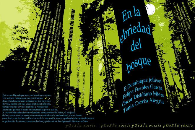 Libro de poemas, de Venezia Lesseps, Felipe Fuentes García, Tania Alegría y Óscar Distéfano