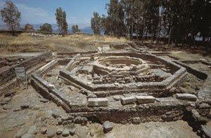 Tradicion Cristiana de Cafarnaum en el Viaje los jovenes del Camino Neocatecumenal a Israel