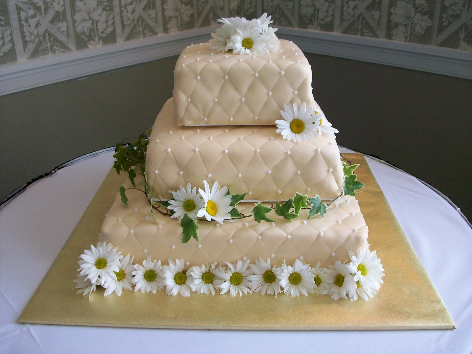 10th Wedding Anniversary Cake Viewing Gallery