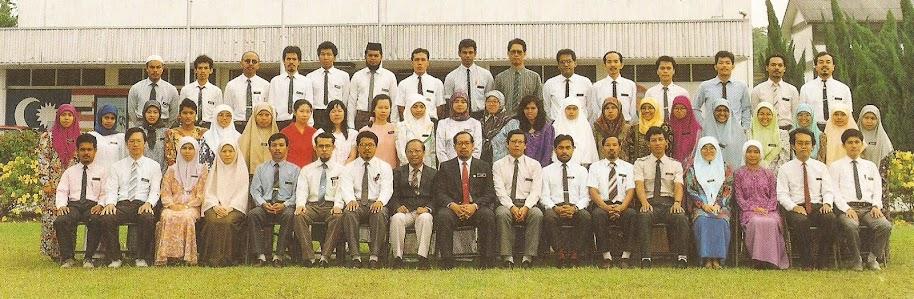 Gambar guru-guru SEMESTI 1992