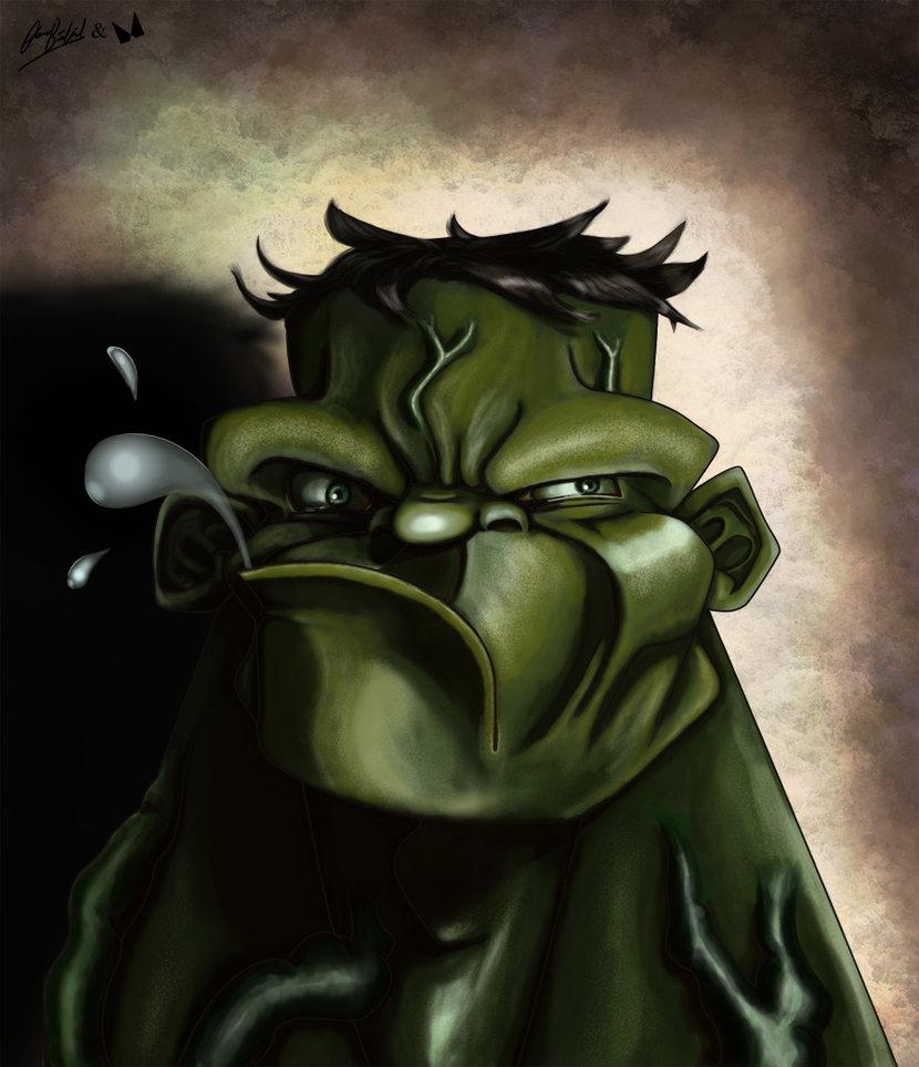 incredible hulk art gallery - photo #19