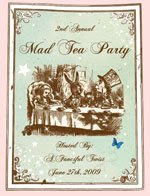 Join the Mad Tea Party on June 27th