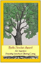 Thank-you Silke for the Bella Sinclair Award