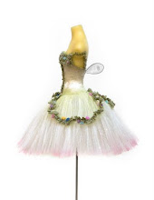 Miniture ballet costumes at The Little Costume Shop