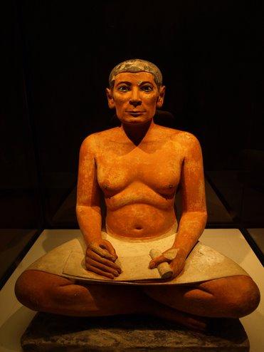 Escriba del Museo del Louvre