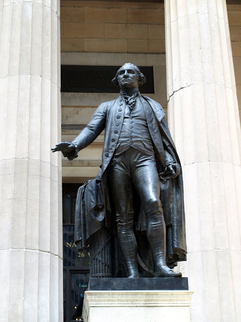 George Washington en Wall Street