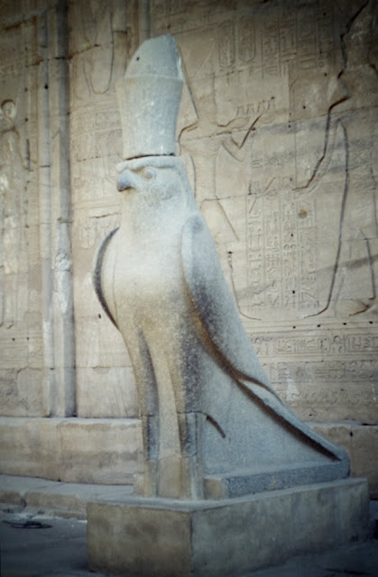 Horus del templo de Edfu