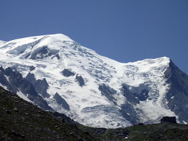 Vista del Mont Blanc desde la plane de l'Aiguille