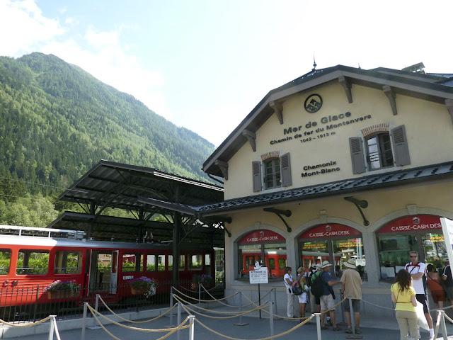 Estación tren a Montenvers