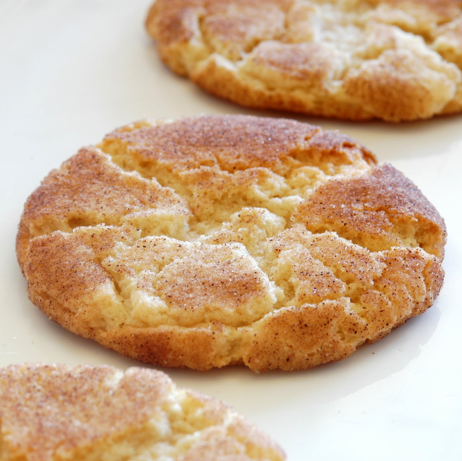 don't know who Mrs. Sigg is, but she sure has a killer Snickerdoodle ...