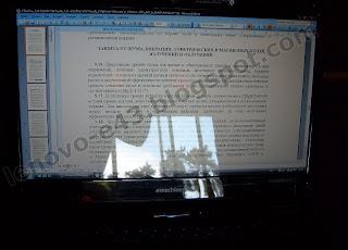 Глянцевый экран Acer eMachines E525-902G16Mi