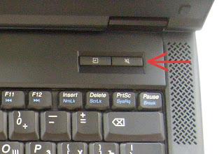 Lenovo E43 - кнопка отключения звука