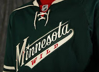 Throwback Minnesota Wild Jersey