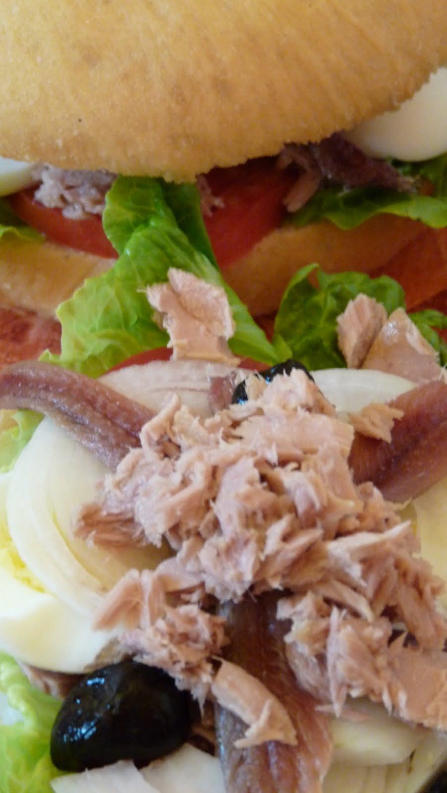 Gourmandise et cuisine pan bagnat - Cuisine et gourmandise ...