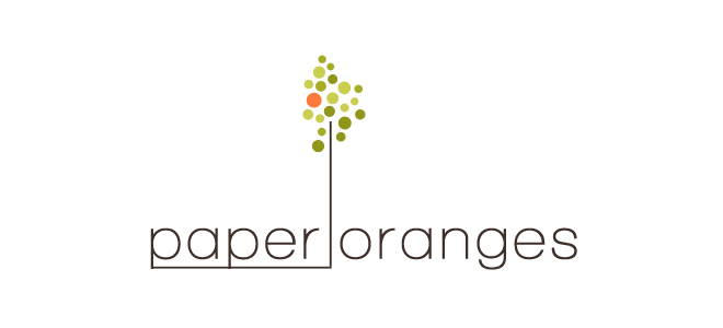 paper oranges