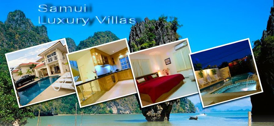 Samui Luxury Villas for Rent, Samui Beach Houses, Samui Holiday Home Rentals