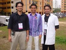 Bersama Mejar Dr Faiz Khaleed