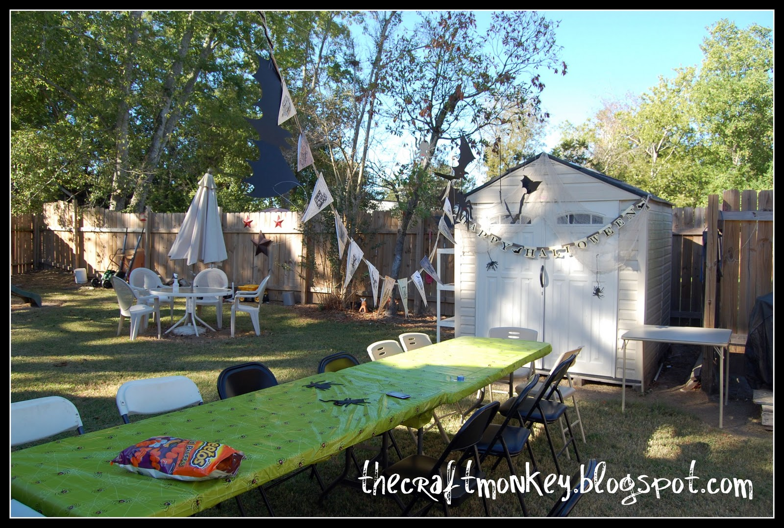 Backyard Haunted Forest Ideas : Guest Post  Halloween Party Ideas  Clean and Scentsible