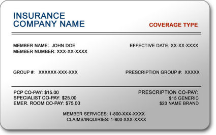 Insurance Card United Healthcare