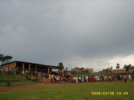 Le STADE de la commune de Muyinga