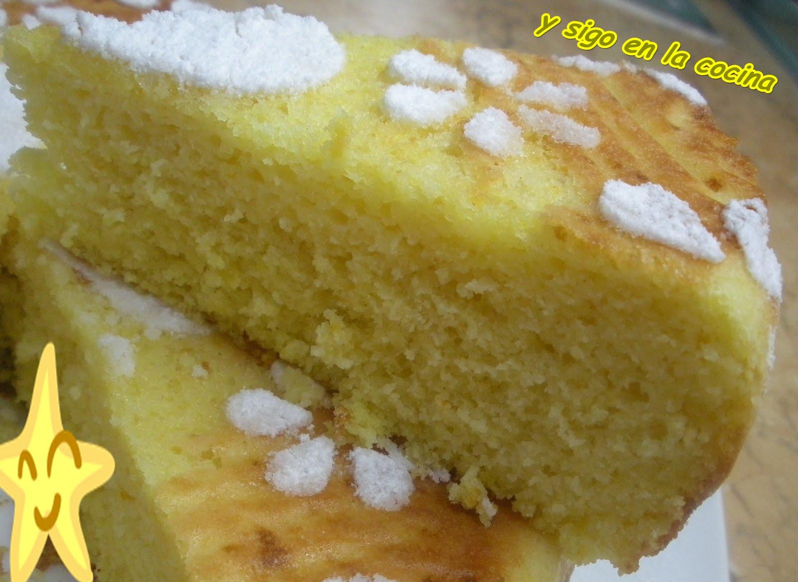 Y sigo en la cocina bizcocho de claras con naranja y lim n for Bizcocho limon esponjoso