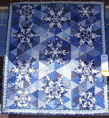 Snowflake Applique by Scrapendipity | Quilting Pattern