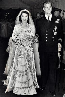 monarchico anniversario del matrimonio della regina