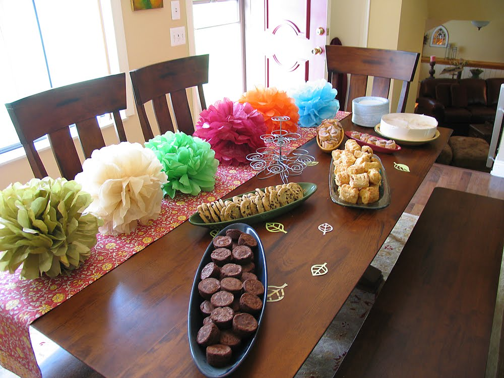 The boho birdie baby shower over load for Baby shower decoration ideas martha stewart
